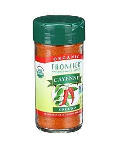 Frontier Herb Cayenne - Organic - Ground - 30000 Hu - 1.7 Oz