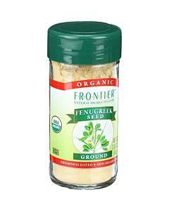 Frontier Herb Fenugreek Seed - Organic - Ground - 2.24 Oz