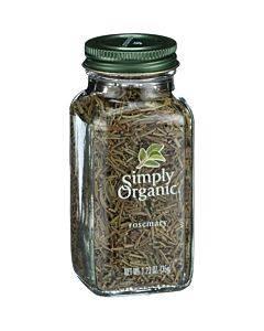 Simply Organic Rosemary Leaf- Organic - Whole - 1.23 Oz
