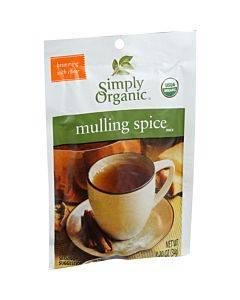 Simply Organic Mulling Spice - Organic - Gluten Free - 1.2 Oz - Case Of 8