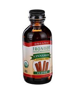 Frontier Herb Cinnamon Flavor - Organic - 2 Oz