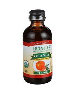 Frontier Herb Orange Flavor - Organic - 2 Oz