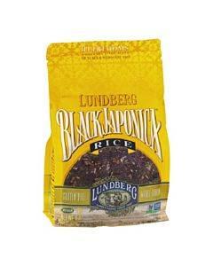 Lundberg Family Farms Eco - Farmed Gourmet Black Japonica Field Blend Rice - Case Of 6 - 1 Lb.