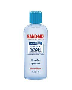 Band-aid Hurt-free Antiseptic Wash, 6 Fl Oz Part No. 004459 (1/ea)