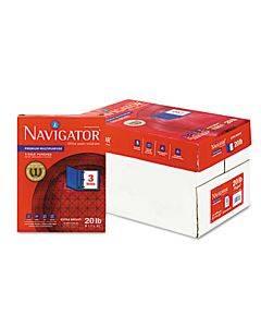 Premium Multipurpose Copy Paper, 97 Bright, 3-hole, 20lb, 8.5 X 11, White, 500 Sheets/ream, 10 Reams/carton