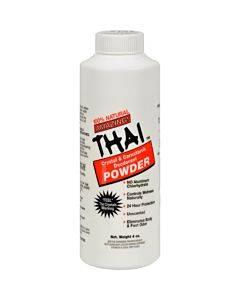 Thai Deodorant Stone Crystal And Corn Starch Deodorant Body Powder - 4 Oz