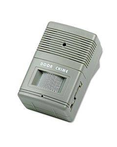 Visitor Arrival/departure Chime, Battery Operated, 2.75w X 2d X 4.25h, Gray