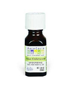 Aura Cacia - Essential Oil - Atlas Cedar Wood - 0.5 Fl Oz.
