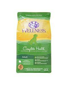 Wellness Pet Products Dog Food - Lamb And Barley Recipe - Case Of 6 - 5 Lb.