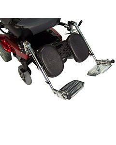 Power Wheelchair Elevating Legrest Bracket With Hemi Spacing