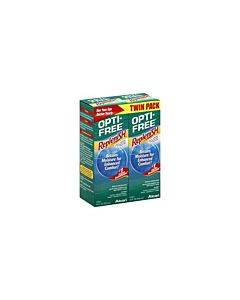 Alcon Opti Free Replenish 2 X 10 Oz. Twin Pack Part No. 0065035721 (2/ea)