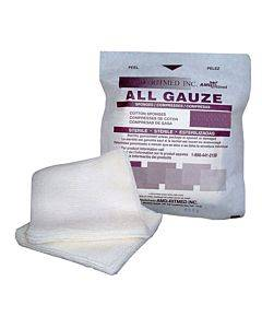 """Gauze Sterile Sponge 4"""" X 4"""", 12-ply. Part No. B4412 (1/ea)"""