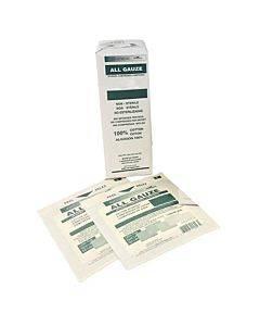 """Standard Non-sterile Woven Gauze Sponges, 2"""" X 2"""" 8-ply, 100% Cotton Part No. B3001 (200/package)"""