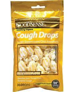 Cough Drops, Honey Lemon (30 Count) Part No. Bs00043a (1/ea)