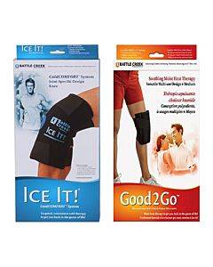 Knee Pain Kit With Moist Heat And Cold Therapy Part No. F00612 (1/ea)