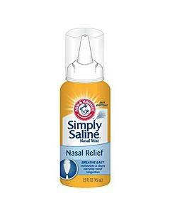 Simply Saline 3 Oz. Nasal Mist Part No. 10022600029301 (1/ea)