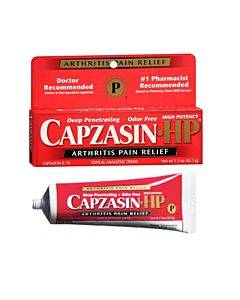 Capzasin-hp Cream, 1.5 Oz. Part No. 0-41167-75142 (1/ea)