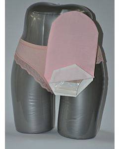 "Daily Wear Pouch Cover, Open End, Fits Flange Opening Of 3/4"" To 2-1/4"", Overall Length 10"", Pink Part No. 58277-1 (1/ea)"
