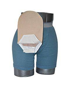 """Daily Wear Pouch Cover, Open End, Fits Flange Opening Of 3/4"""" To 2-1/4"""", Overall Length 10"""", Tan Part No. 58280-1 (1/ea)"""