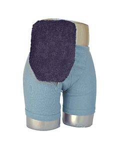 "Quick Dry Pouch Cover, Fits Flange Opening Of 3/4"" To 2-1/4"", Overall Length 9"", Navy Terry Cloth Part No. 72750 (1/ea)"