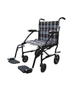 Drive Medical Fly-Lite Transport Chair Black  19 Part No.Dfl19-Blk