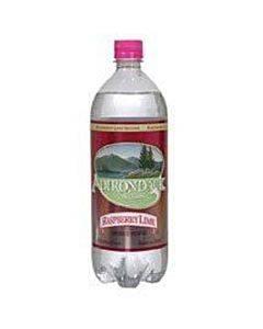 Naturals Adirondack Seltzer - Raspberry Lime - Case Of 12 - 33.8 Fz