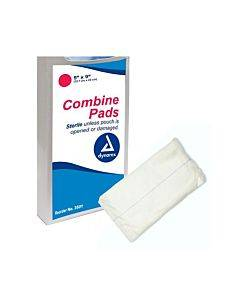 "Sterile Non-adherent Combin Pad 5"" X 9"" Part No. 3501 (20/package)"