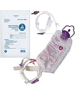 Gravity Bag Set With 1200 Cc Enteral Bag - With Enfit Connector Part No. 4280 (1/ea)