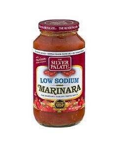 Silver Palate Pasta Sauce - Low Sodium Marinara - Case Of 6 - 25 Oz.