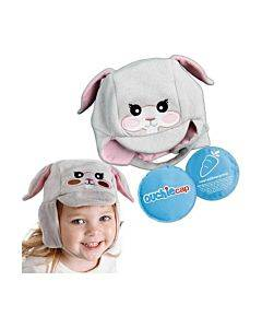 Cool Gel N Cap Kids Ice And Heat Packs With First Aid Cap, Tulip The Bunny Part No. Cgc101tulip (1/ea)