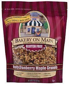 Bakery On Main  Granola - Nutty Cranberry Maple - Case Of 4 - 22 Oz.