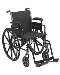 "Cruiser Iii Wheelchair 18"" Seat, Black Part No. K318dda-sf (1/case)"