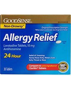 Goodsense Allergy Relief Loratadine 24hr Tabs, 10mg, 30 Ct Part No. Lp14738 (30/box)