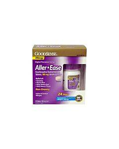 Goodsense Aller-ease 24hr Non-drowsy Tabs, 180mg, 30 Ct Part No. Lp57139 (30/box)