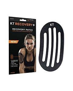 Kt Tape Recovery+ Patch, Black Part No. 902019-2 (4/box)