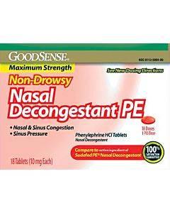 Nasal Decongestant Tablet (18 Count) Part No. Lp14739 (18/box)