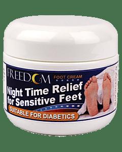 Freedom Night Time Foot Cream, 2 Oz. Tub Part No. 901 (1/ea)