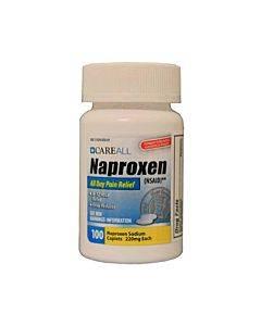 Naproxen Caplets, 220g, 100 Count Part No. Napc220100 (100/box)