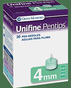 Unifine Pentips Short Pen Needle 31g X 8 Mm (30 Count) Part No. An1130 (30/box)