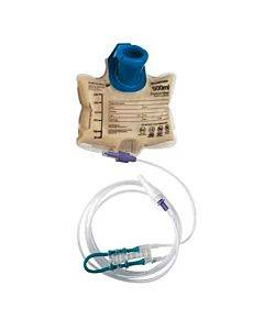 Enteralite Infinity 500 Ml Bag Pump Set With Pre-attached Enfit Transitional Connector Part No. Inf0500-a (1/ea)
