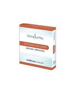 "Safe N Simple Simpurity Hydrocolloid, 2"" X 2"" Part No. Sns55402 (12/box)"