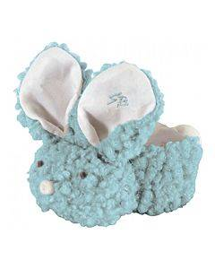 Boo-bunnie Comfort Toy, Woolly Light Blue Part No. 692106 (1/ea)