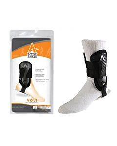 Active Ankle Volt Rigid Ankle Brace, Black, Small Part No. 760150 (1/ea)