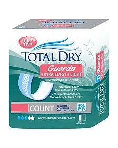 """Totaldry Extra Length Guards Light, 3.5"""" X 11"""" Part No. Sp1565 (30/package)"""