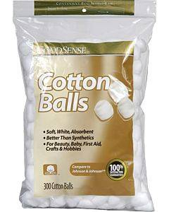 Cotton Balls, 300 Count Part No. Usc03775 (300/package)