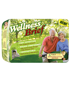 """Wellness Brief Super Absorbent X-large 47"""" - 67"""" Part No. 3155 (20/package)"""