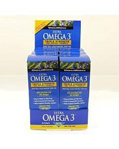 Omegaworks Ultra Omega 3 Counter Display Part No. Bmn6327 (1/ea)