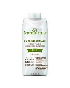 Kate Farms Peptide Formula 1.5 Plain 500 Calories (325 Ml) Part No. 851823006379 (1/ea)