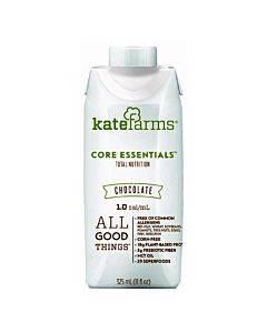 Kate Farms Standard Formula 1.0 Chocolate 325 Calories (325 Ml) Part No. 851823006690 (1/ea)
