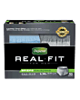 Depend Real Fit Briefs For Men, Large/x-large Fits Waist 38-50
